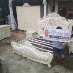 Jual Kamar Set Mewah Kota Bali Ukiran Putih Duco