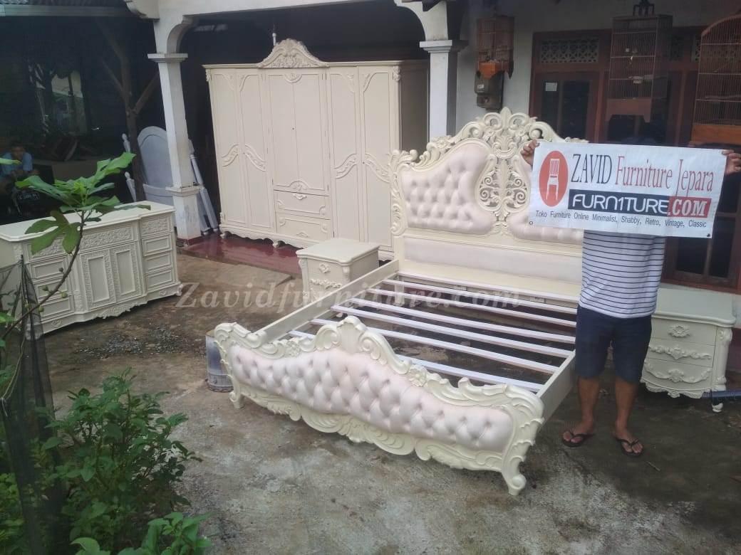 kamar-set-mewah-real-pict-4 Jual Kamar Set Mewah Kota Bali Ukiran Putih Duco