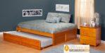 Jual Tempat Tidur Medan Model Minimalis Kayu Jati Murah