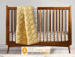 Tempat Tidur Bayi Solo Kayu Jati Murah