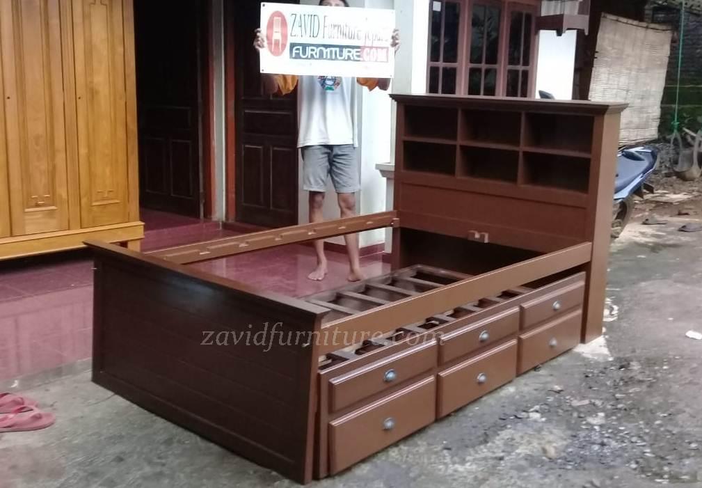 tempat tidur sorong laci - Jual Tempat Tidur Sorong Kota Bali Model Sorong Berlaci Terbaru