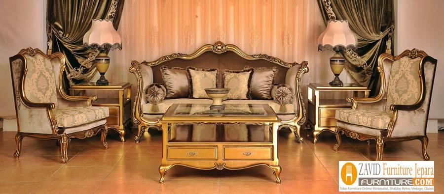 kursi-tamu-mewah-warna-emas Kursi Tamu Mewah Bekasi Warna Emas Terbaru