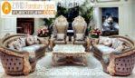 Kursi Tamu Sofa Mewah Ukiran Jati Royal Jumbo Pekanbaru