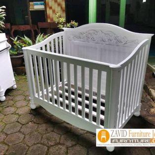 Jual Box Bayi Depok Model Minimalis Putih Duco