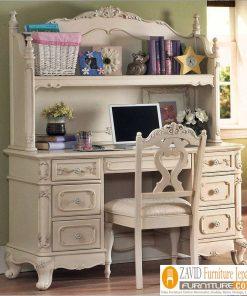 meja belajar putih duco 247x296 - Toko Furniture Jepara | Spesialis Mebel Jepara Online Kota Ukir