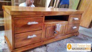 Meja Tv Minimalis Tangerang Kayu Jati Minimalis Desain Baru