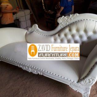Jual Bale Bale Solo Mewah Sofa Modern Putih Duco Terbaru