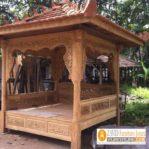 Gazebo Taman Minimalis  Sederhana