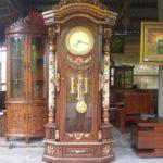 Lemari Jam Hias Jakarta Ukiran Mewah Terbaru