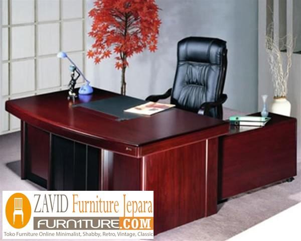 meja-direktur-minimalis2 Meja Kantor  Direktur Jakarta Kayu Jati