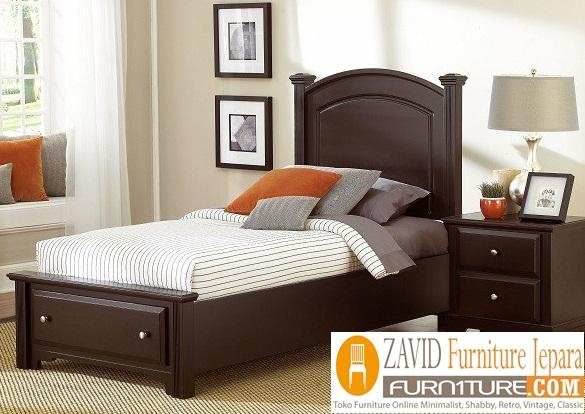 tempat tidur anak kayu jati minimalis - Tempat Tidur Anak Cirebon Kayu Jati Minimalis