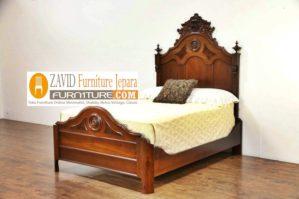 Jual Tempat Tidur Anak Madura Minimalis Klasik Kayu Jati