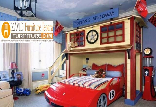 tempat tidur unik3 - Jual Tempat Tidur Anak Bogor Minimalis Modern