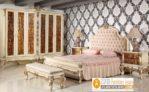 Kamar Set Mewah Magelang Warna Putih Duco ukiran Artistik Modern