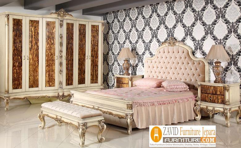 kamar-set-mewah-belinda Kamar Set Mewah Magelang Warna Putih Duco ukiran Artistik Modern