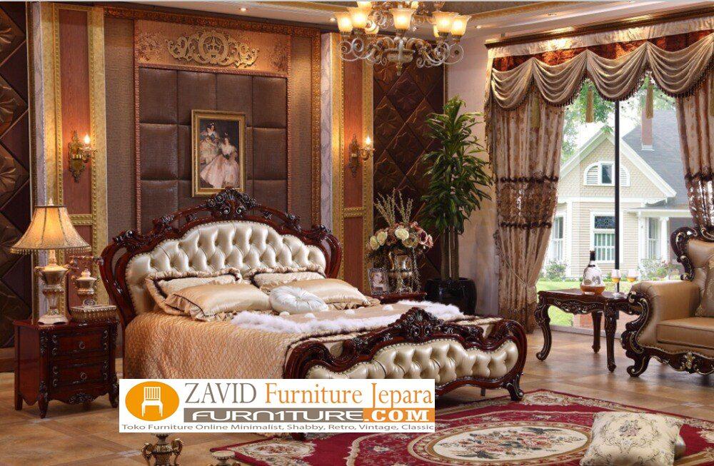 kamar set mewah ukiran jepara termewah - Jual Kamar Set Klasik Modern Mewah Ukiran Jepara Termewah