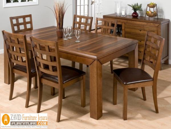 kursi-makan-kayu-jatiii Set Kursi Makan Tanggerang Kayu Jati Klasik Terbaru