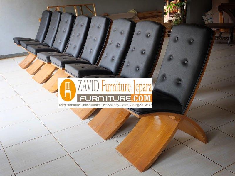 kursi-makan-kayu-trembesi Kursi Makan Banjarmasin Kayu Trembesi Unik Modern