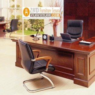 Meja Kantor Minimalis Berbentuk L