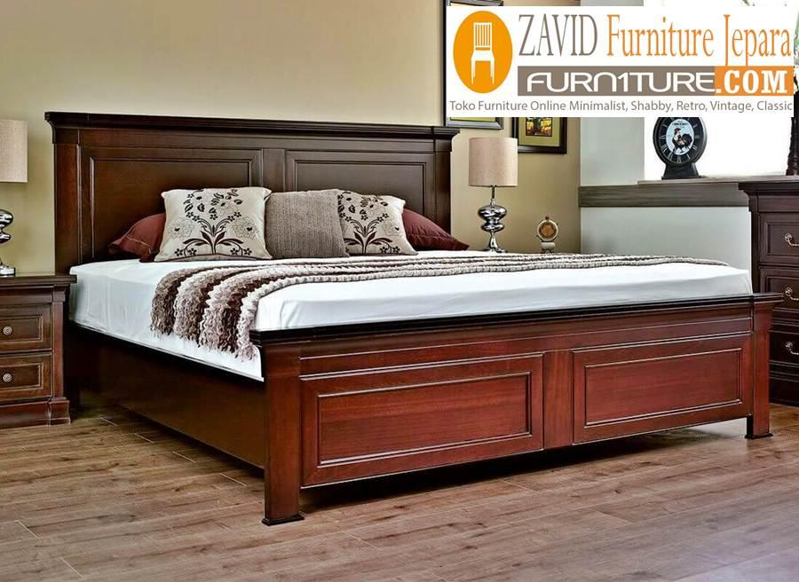 tempat-tidur-jati-minimalis-murah Jual Tempat Tidur Kudus Minimalis Kayu Jati Murah