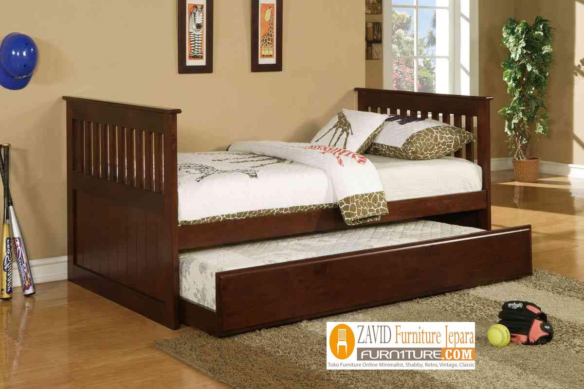 tempat-tidur-sorong-minimalis Tempat Tidur Sorong Makasar Remaja Minimalis