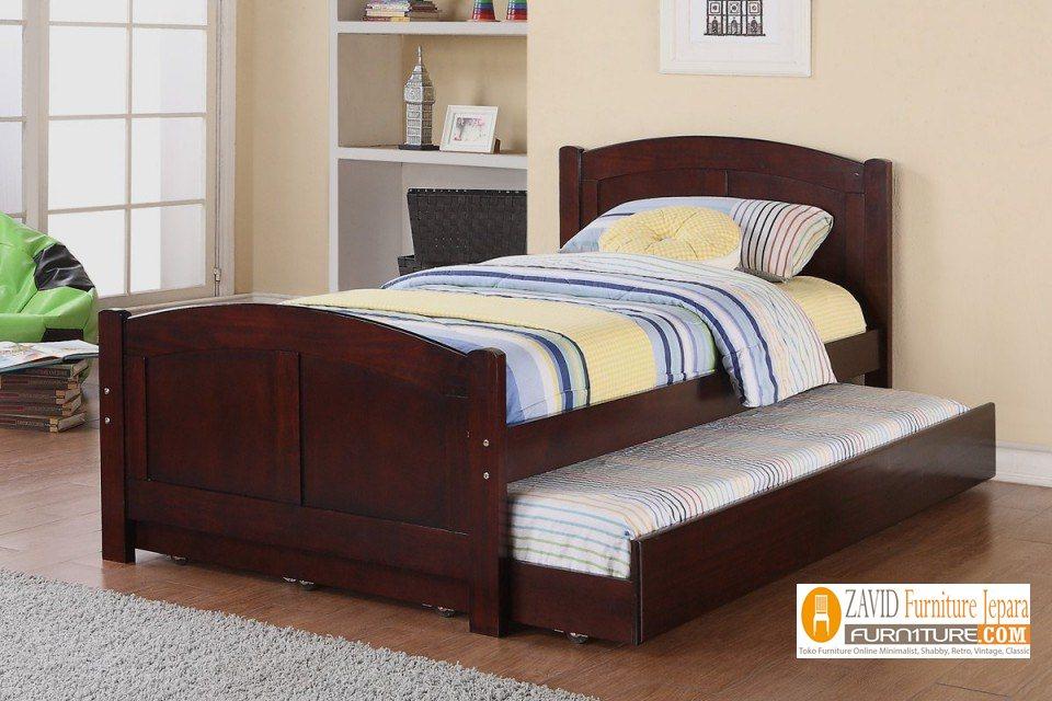 tempat tidur sorong untuk remaja - Jual Tempat Tidur Sorong Palembang Remaja Minimalis