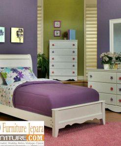 kamar set anak perempuan minimalis putih duco 247x296 - Simple Slider