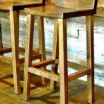 Kursi Bar Kediri Minimalis Kayu Jati Model Baru Modern