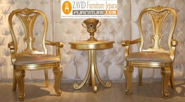 kursi-teras-mewah-warna-emas Kursi Teras Kediri Mewah Warna Emas Ukiran Modern