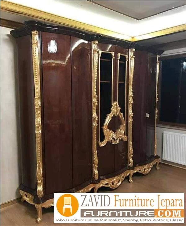 lemari-kamar-set-mewah-ukiran-jepara Lemari Pakaian Malang Mewah Ukiran Klasik 6 Pintu