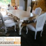 Meja Rias Tasikmalaya Mewah Minimalis Putih Cream