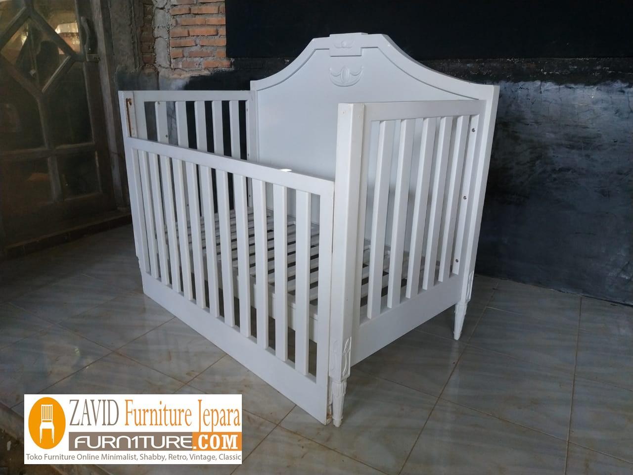 tempat-tidur-bayi1 Box Bayi Surabaya Putih Duco Minimalis Modern