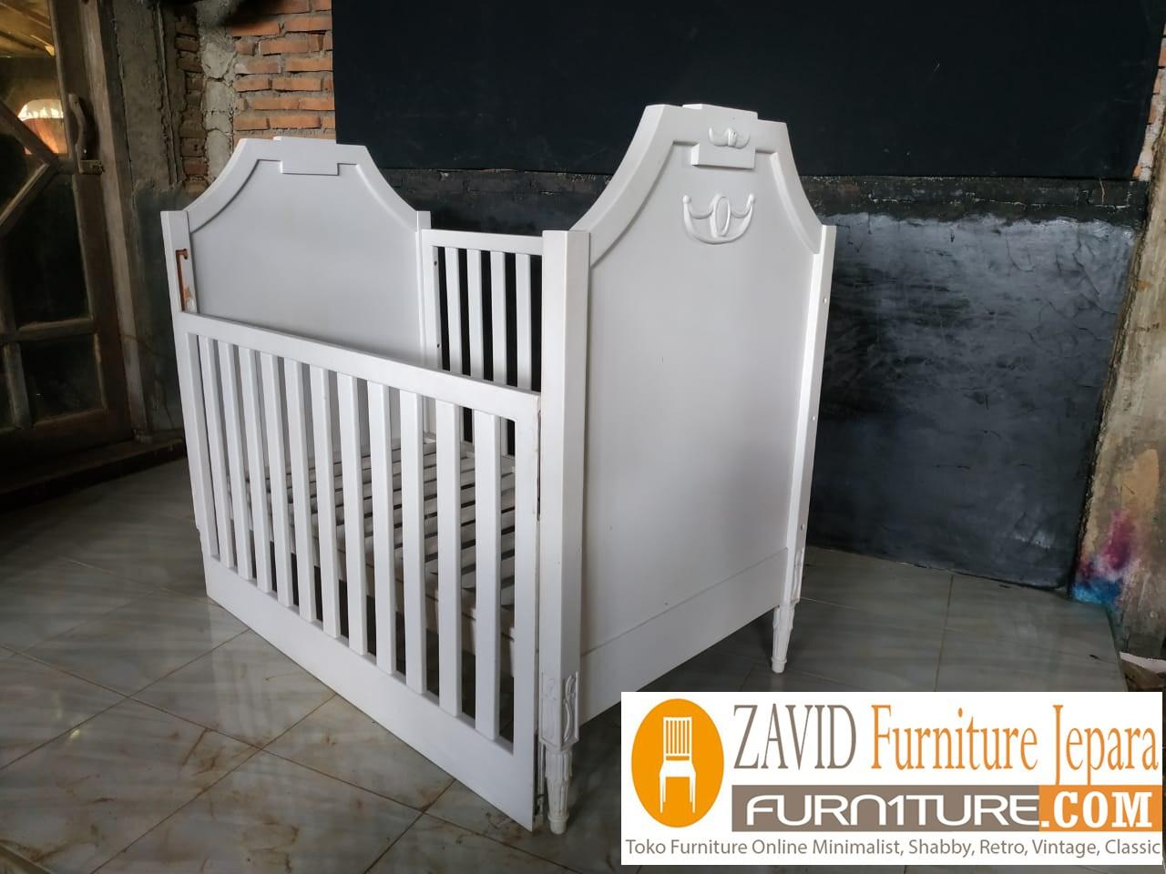 tempat-tidur-bayi2 Box Bayi Surabaya Putih Duco Minimalis Modern