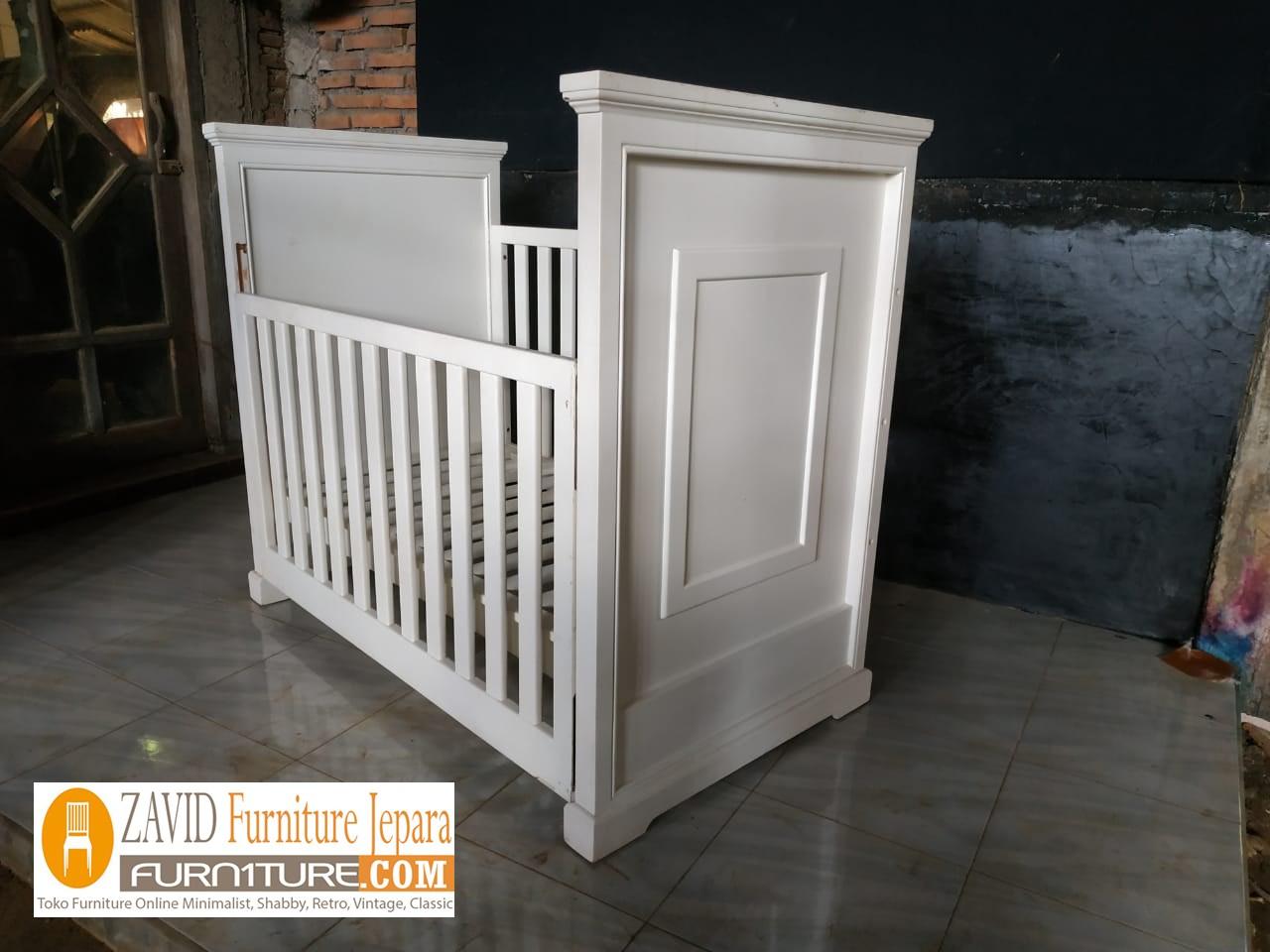 tempat-tidur-bayi6 Box Bayi Surabaya Putih Duco Minimalis Modern
