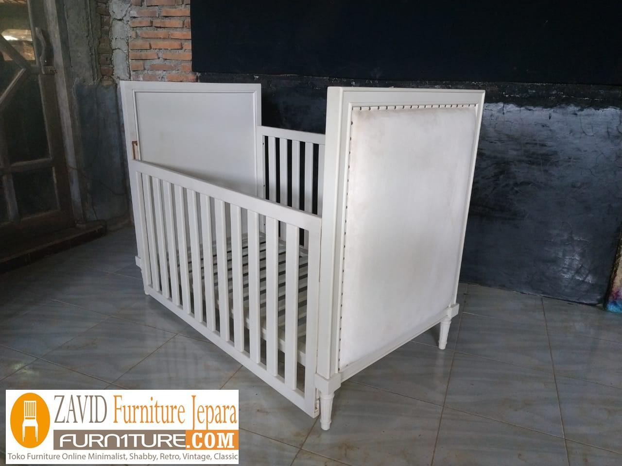 tempat-tidur-bayi7 Box Bayi Surabaya Putih Duco Minimalis Modern