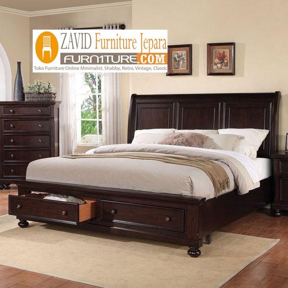 tempat tidur remja jati minimalis - Tempat Tidur Anak Remaja Palembang Minimalis kayu Jati Murah