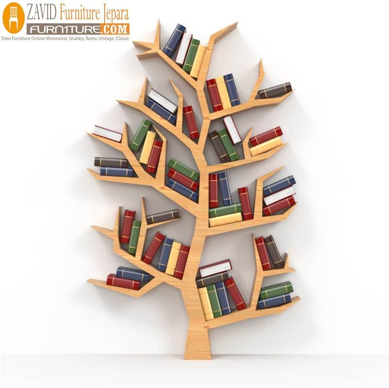 shutterstock_124374037-e1502252746742 Rak Buku Pohon Minimalis Model Sederhana Harga Murah Dari Kayu