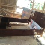 Tempat Tidur Madiun Minimalis Kayu Jati 2 Laci