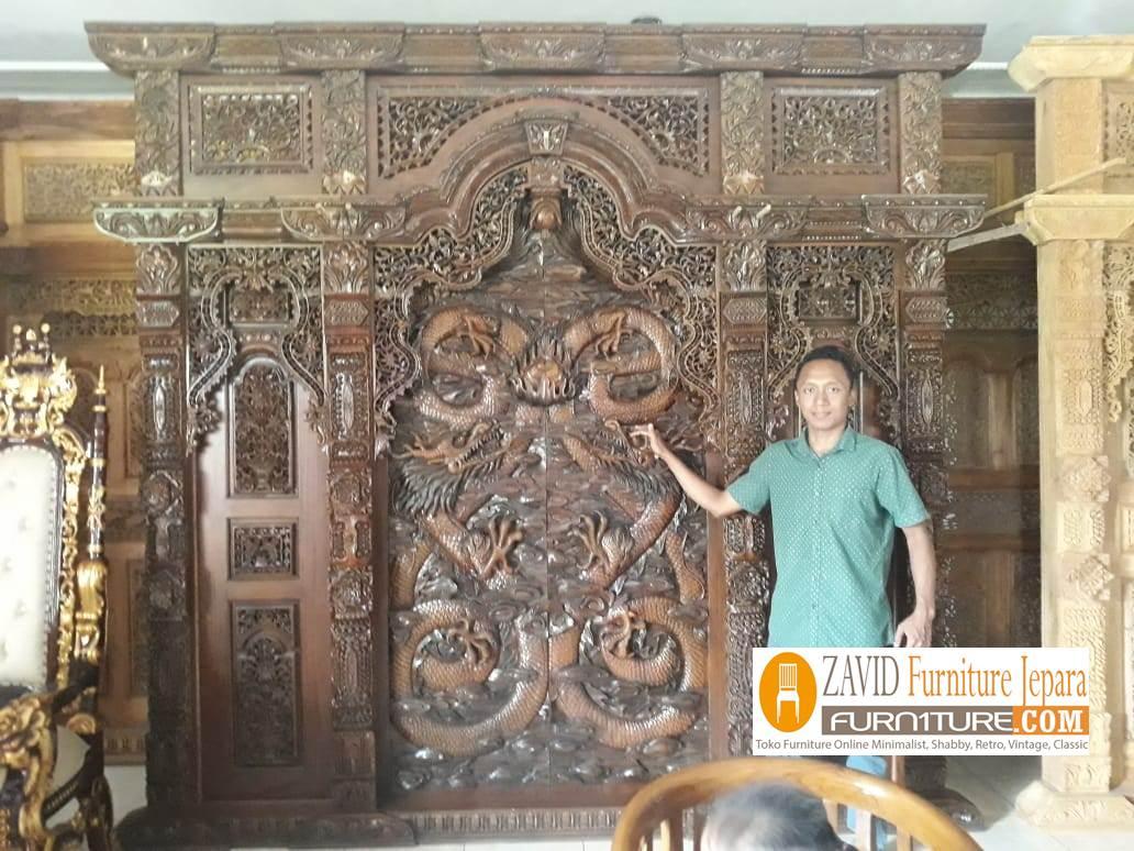 gebyok-ukir-relief-naga Gebyok Jati Ukiran Jepara