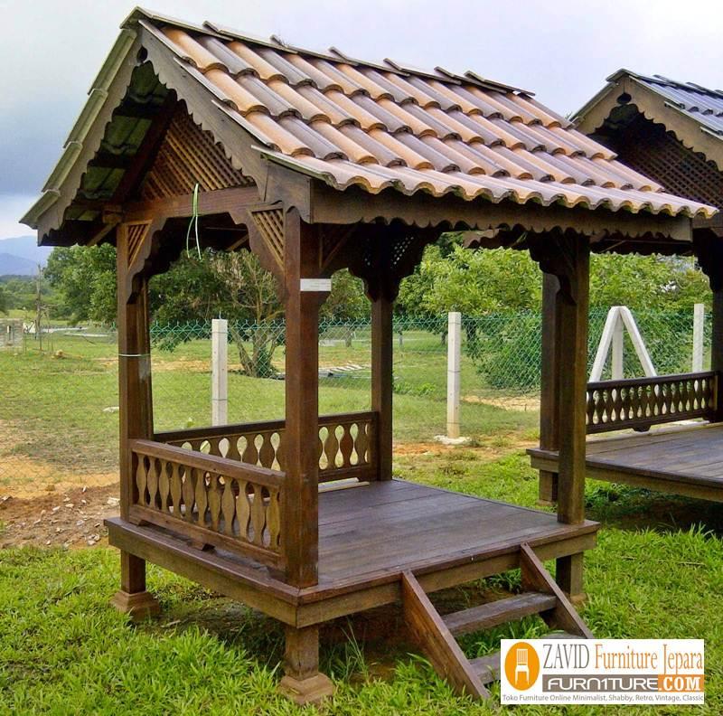 jual-gazebo-minimalis-bahan-baku-kayu-berkualitas Jual Gazebo Minimalis Bahan Baku Berkualitas Tinggi