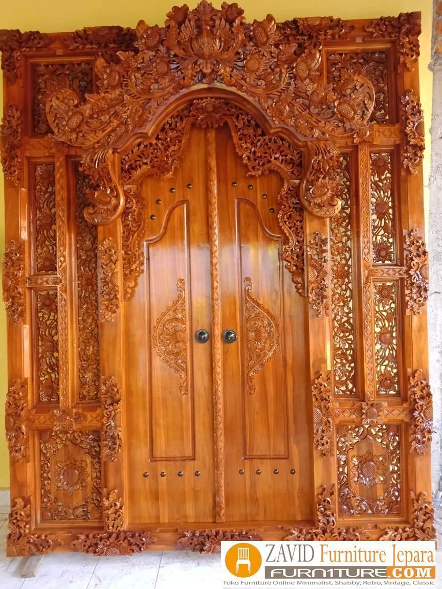 pintu-gebyok-ukir-bali Gebyok Jati Ukiran Jepara