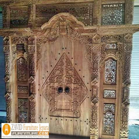 desain-pintu-gebyok-klasik-pewayangan Pintu Gebyok Ukir Jepara