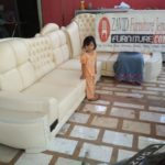 Kursi Tamu Sudut Sofa Mewah Cat Duco
