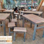 Kursi Cafe Bandung Kayu Jati Minimalis Murah