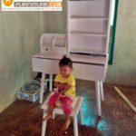Meja Rias Cirebon Minimalis Putih Duco Modern