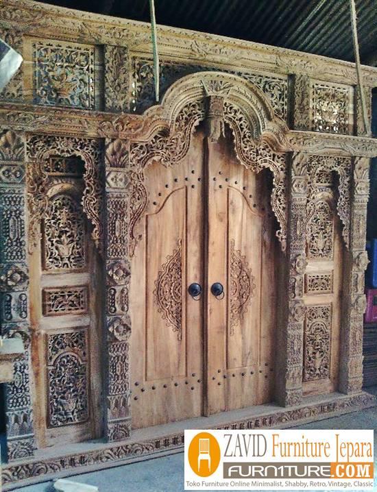 pintu-gebyok-kayu-jati-jepara Pintu Gebyok Ukir Jepara
