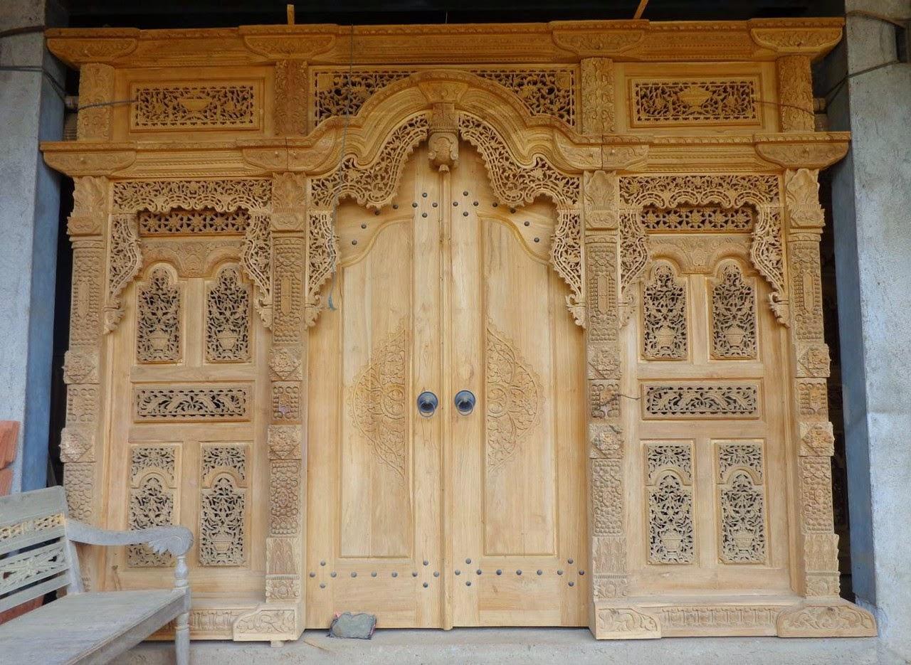 pintu-gebyok-nanasan Pintu Gebyok Ukir Jepara