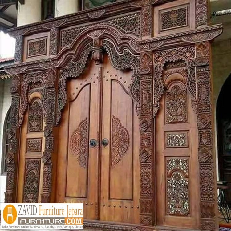 pintu-gebyok-ukiran-jepara Pintu Gebyok Ukir Jepara