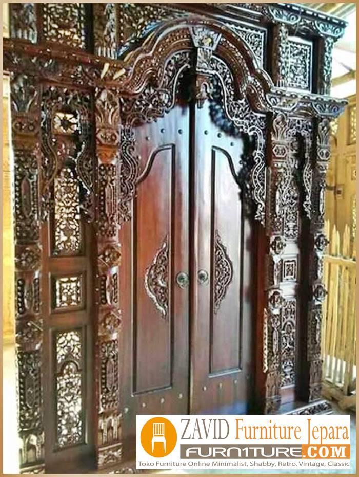 pintu-gebyok-ukiran-kota-jepara-mewah Pintu Gebyok Ukir Jepara