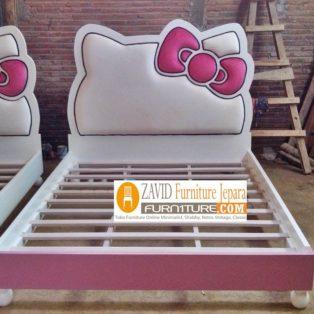 Tempat Tidur Hello Kitty Minimalis Anak Perempuan